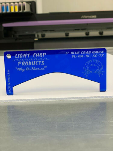 Blue Crab Gauge Made in the USA