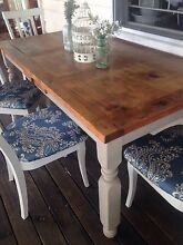 Set of 4 elegant upcycled French silky oak chairs Boonah Ipswich South Preview
