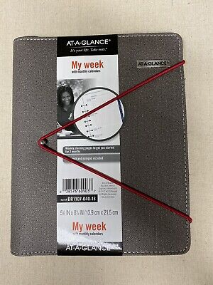 At-a-glance 2021 Weekly Planner Agenda Organizer Calendar Appointment Book