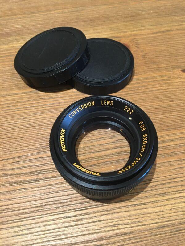 Tamron Fotovix Conversion Lens 6x8 cm 22Z