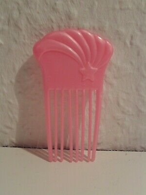 Mattel Barbie Kamm Bürste Sternschuppen Kamm Regenbogen Ultra Hair rosa Pick ()