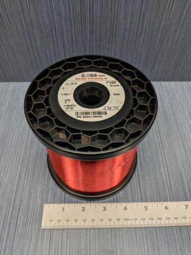 Elektrisola P155 Copper Magnet Wire 0.055MM Grade 1 - 4.65 lbs