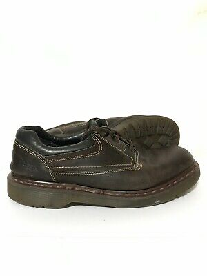 Dr. Martens Air Wair Mens Casual Lace Up 3 Eye Leather Shoes Boots Brown Size 13 3 Eye Shoes Boots