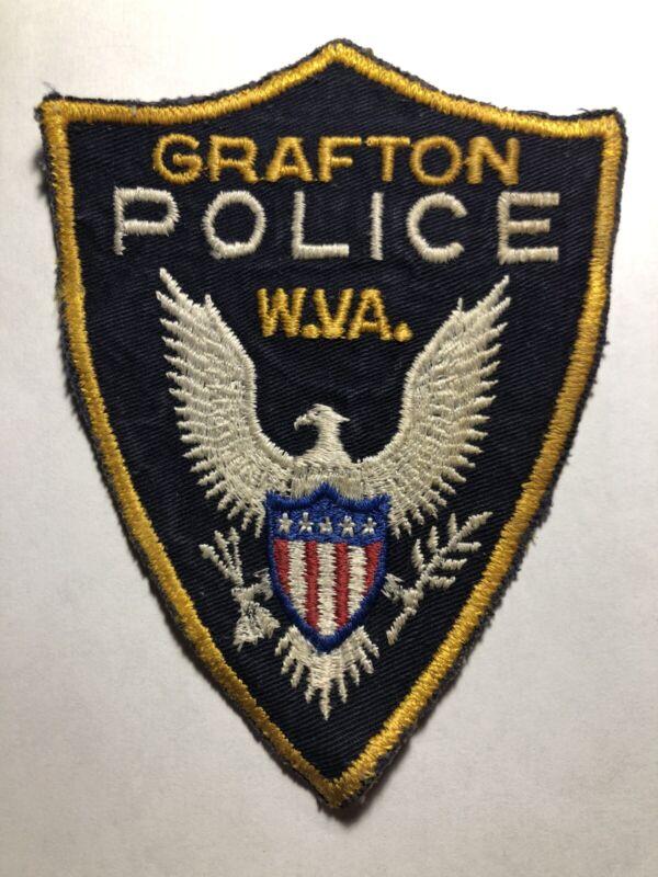 RARE ~ Grafton West Virginia Police Patch
