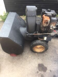 Cheap snowblower make me an offer