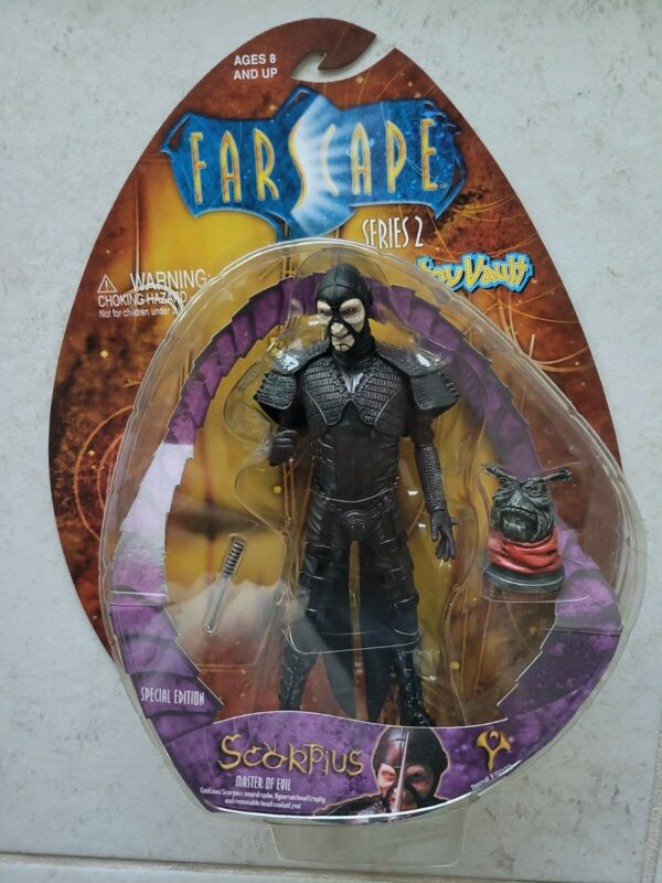 NEW SCORPIUS MASTER OF EVIL SPECIAL EDITION SERIES 2 FARSCAPE ACTION FIGURE s179