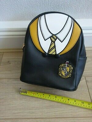 Official Harry Potter Hufflepuff uniform mini backpack | BNWT | Like Loungefly