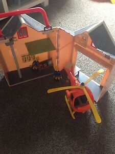 Fireman Sam helicopter and station Wickham Newcastle Area Preview