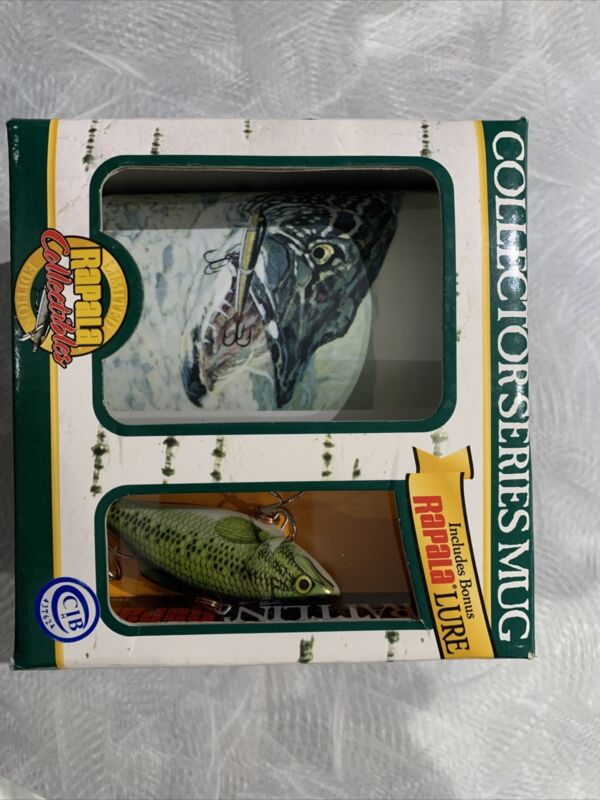 NEW Rapala Limited Edition Collectors Series Fish Mug w/  Rapala Lure NIB ML-10