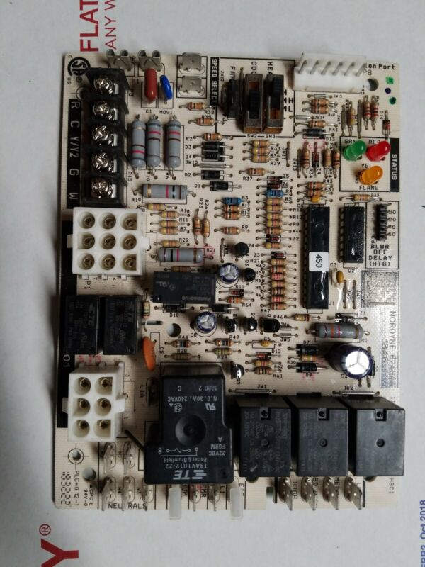 Nordyne Intertherm Miller 1182-201 Furnace Control Circuit Board 624844