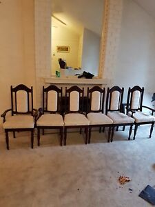 6 Dining Chairs for sale!