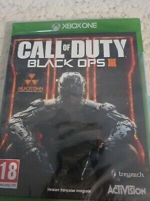 CALL Of DUTY Black Ops 3 XBOX One _ VERS FRANCAISE NEUF...
