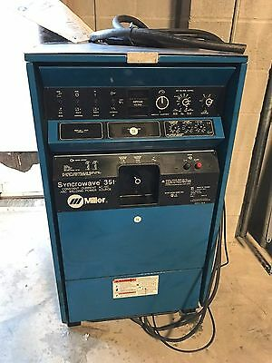 One Pristine Genuine Oem Miller Syncrowave 351 Acdc Welding Power Source A Deal