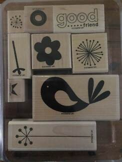 """Stampin Up! """"Good Friend"""" Stamps Castle Hill The Hills District Preview"""