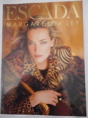 ESCADA Vintage 1996 Full Fashion Catalog Book Marketing Autumn Winter 230 Pages