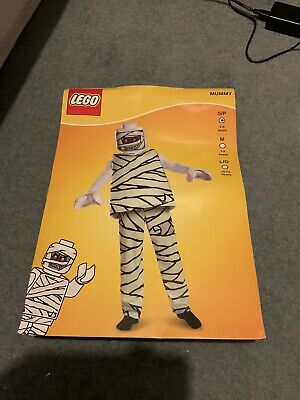 Mummy Dress Up (LEGO MUMMY FANCY DRESS COSTUME OUTFIT DRESS-UP AGE 4-6)