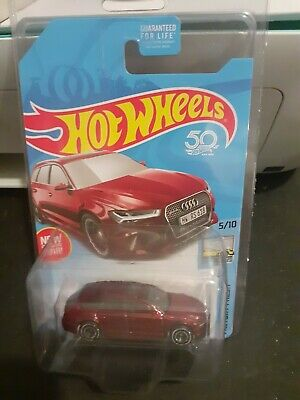 2018 Hot Wheels SUPER TREASURE HUNT '17 Audi RS 6 AVANT in Protector