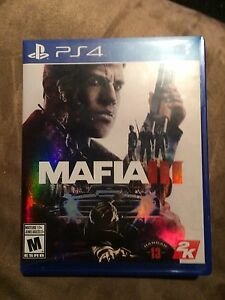 Uncharted, Mafia and other ps4 games