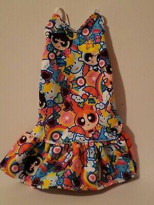 fits CURVY too DRESS ONLY NEW BARBIE DOLL POWER PUFF GIRLS FASHION TANK DRESS