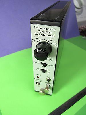 Bruel Kjaer 2651 Charge Amplifier Accelerometer Power Supply Icp Deltatron B36