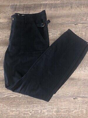 Hei Hei Anthropologie Size 32 Slim Utility Pants Skinny Black (P1)