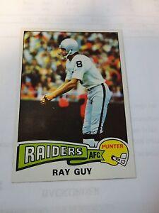 1975-Topps-Ray-Guy-Card-435-Oakland-Raiders