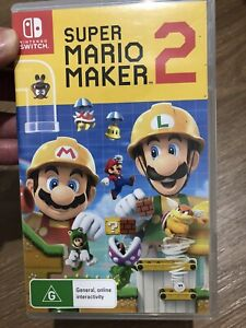 Nintendo Switch Mario maker 2