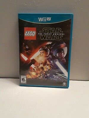 Lego star wars the force awakens(Wii U) Tested Works Complete.