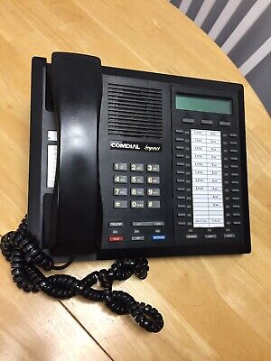 Comdial Impact Telephone 8024s-gt Black W Lcd Display - 24 Button W Speakerphone