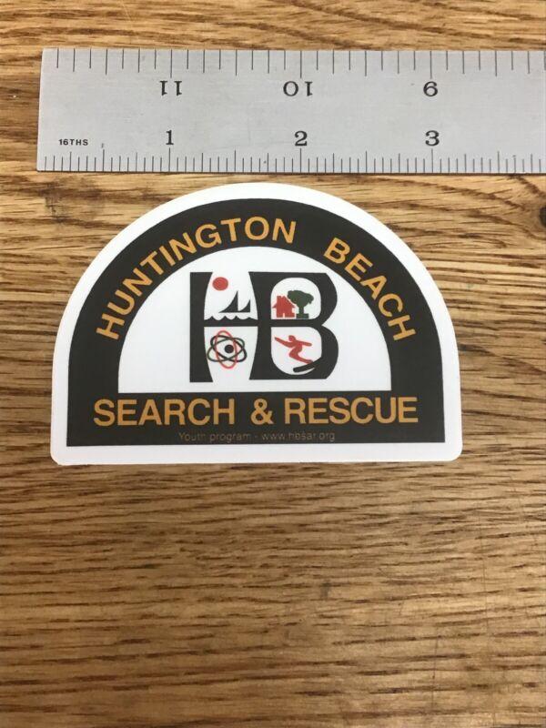 Huntington Beach Search & Rescue Police / Fire Explorer Post Sticker New T-4 -C2