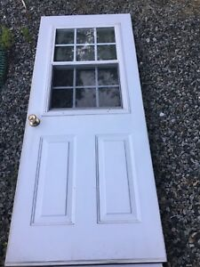 "32"" Vented Steel door"
