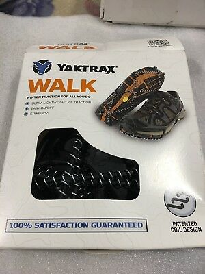 2be06a80e Yaktrax Walk Traction Cleats for Walking on Snow Ice Size L