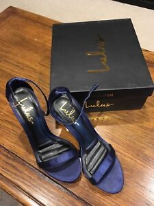 """Navy """"Lulus"""" Prom shoes"""