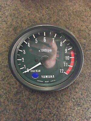 GENUINE NOS <em>YAMAHA</em> XS250 XS400 REV COUNTER TACHOMETER