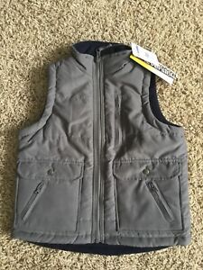 Boys 4T fleece lined vest-brand new with tags!