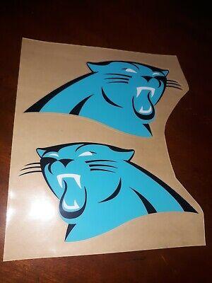 Carolina Panther Colors (Custom Carolina Panthers color rush football Helmet Decals Full size)