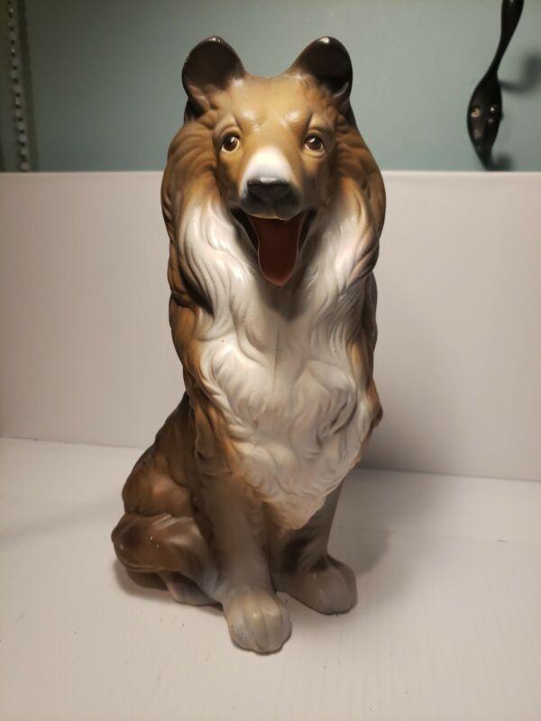 "Collie Ceramic Figurine 11"""