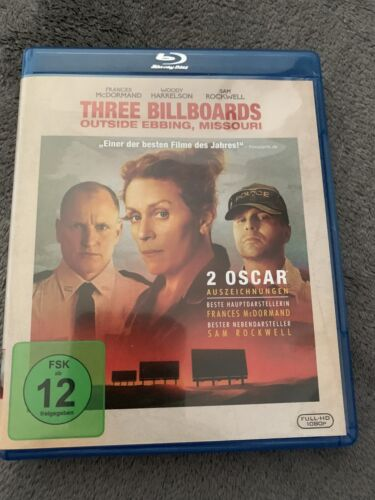 Three Billboards Outside Ebbing, Missouri Blu-Ray Top