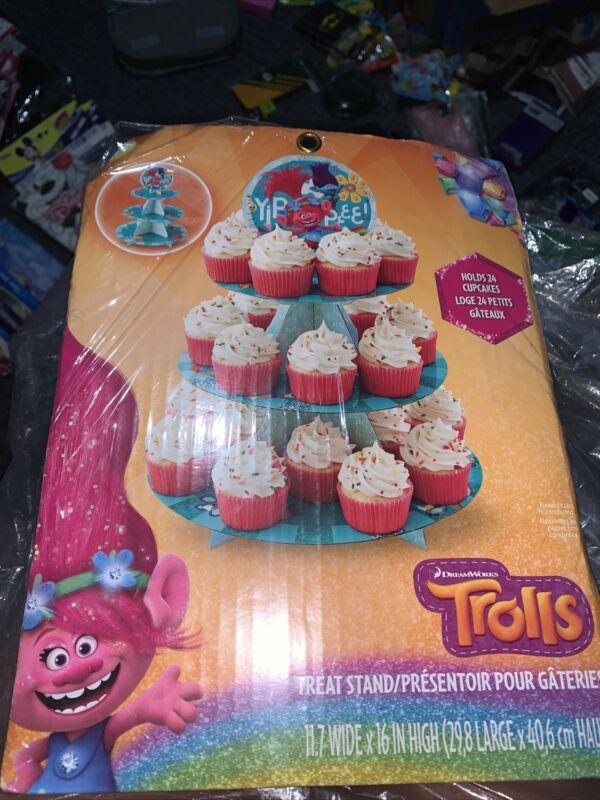 Trolls Cupcake Stand