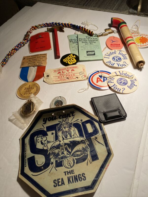 Old Miscellaneous Memorabilia Trinkets And Collectibles