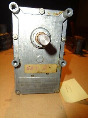 Used Molongear Motor 125.5.5021v-1115 1.75a 12rpm 120v 60cy5292 Gr 38 Shf