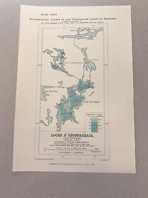 North Uist 36 X 26 cm Lochs Fada Veiragvat etc