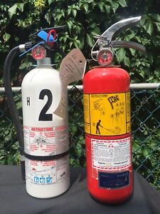 Kidde & Flag ABC Fire extinguishers fully charged