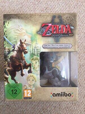 The Legend of Zelda: Twilight Princess HD (Wii U) Limited Edition + Amiibo New