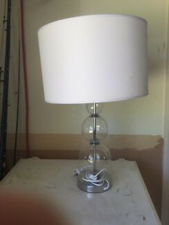 Crystal glass table lamps table desk lamps gumtree australia glass lamp aloadofball Choice Image