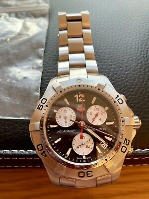 Used, Tag Heuer Aquaracer 200M CAF1110 Chronograph 41mm - Box & Paperwork 2006 for sale  Shipping to South Africa