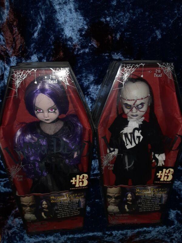 Living dead dolls Beauty & The Beast original set