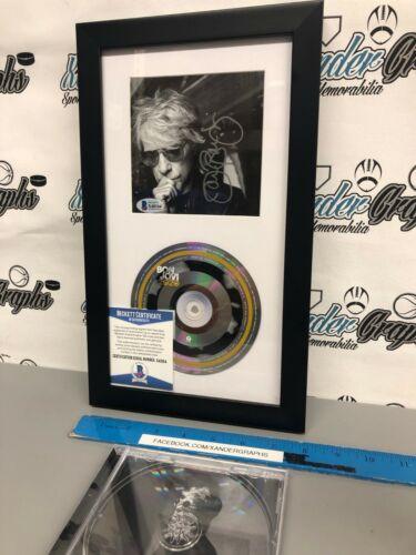 JON BON JOVI SIGNED AUTOGRAPHED 2020 CD FRAMED MATTED DISPLAY-BECKETT BAS COA