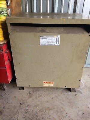 Ge 63 Kva Drive Isolation Transformer 575 Volt-230 Volt133 Volt 3 Phase - Used