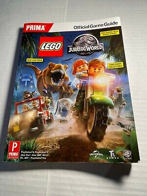 LEGO JURASSIC WORLD VIDEO GAME STRATEGY GUIDE